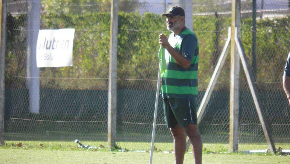 El entrenador Iván Delfino probará el equipo  titular que el lunes visitará a Nueva Chicago
