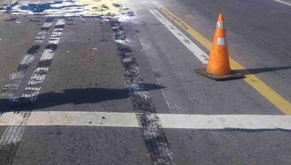 La avenida San Martín es la arteria con más accidente en nuestra ciudad