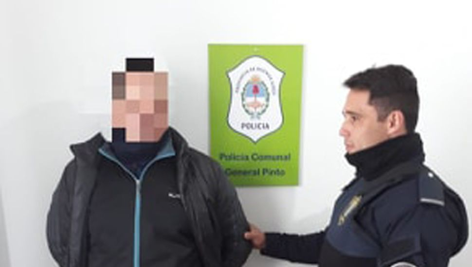 El hombre de 44 años, residente en Claypole, que fue conducido a la dependencia policial de Coronel Granada (Partido de General Pinto), por tener pedido de captura activo.