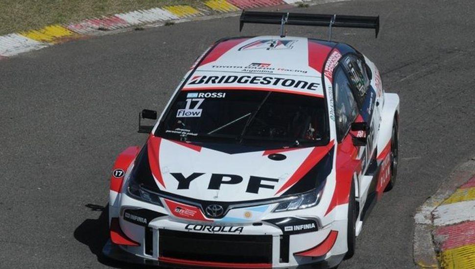Matías Rossi tuvo una gran actuación en el circuito porteño.