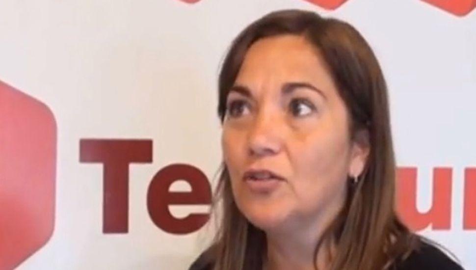 Inspectora de Educación de gestión privada, Lourdes Pedroza.