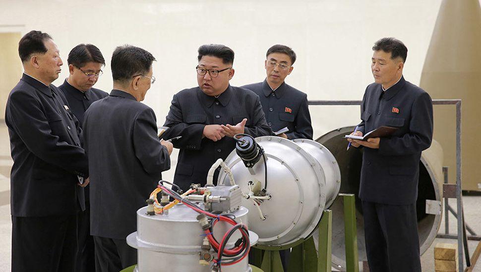 """Norcorea calificó de """"ensayo para la guerra"""""""