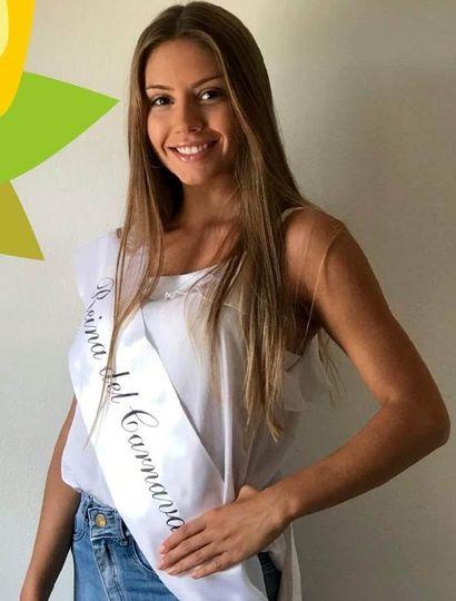 Valentina Gómez García, reina del carnaval General Pinto 2019,nos representará en Carlos Casares.