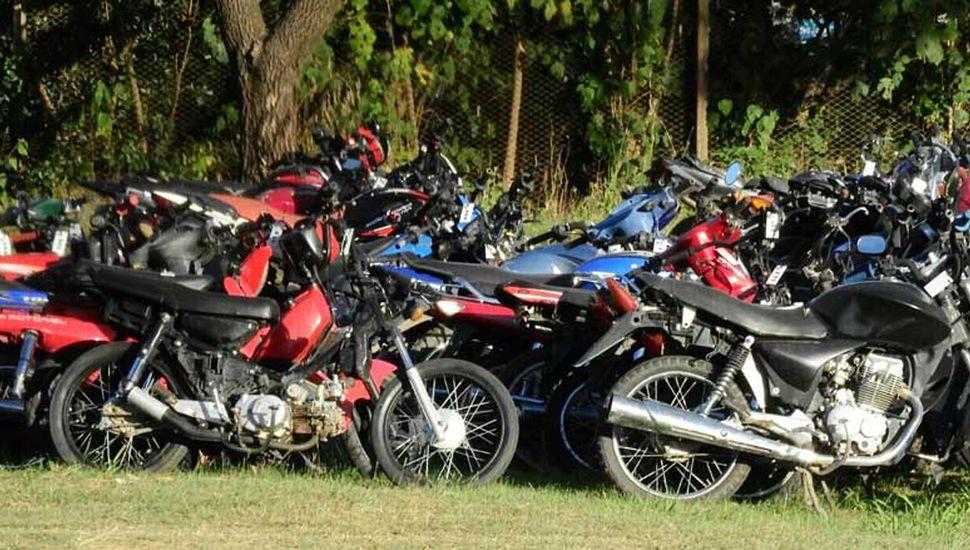 En lo que va de 2019 ya se restituyeron 238 motos de las 430 que habían sido retenidas.