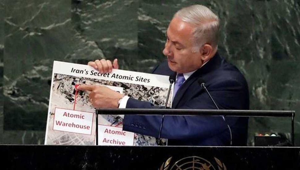 Israel denunció que Irán tiene un depósito atómico secreto en Teherán