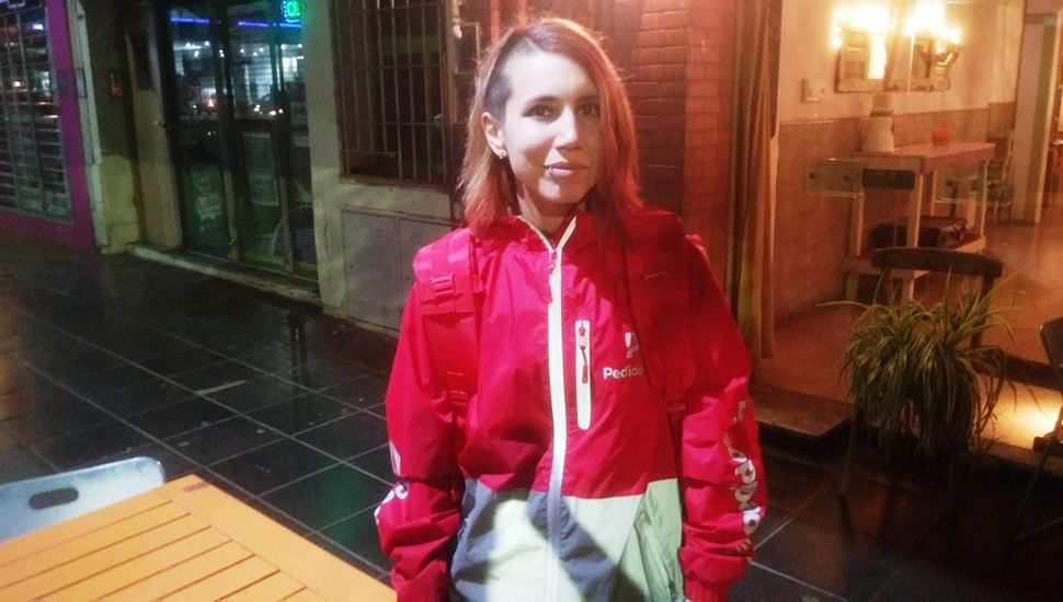 Mariana Ghigliotto es una de las trabajadoras que recientemente se incorporó a la empresa.