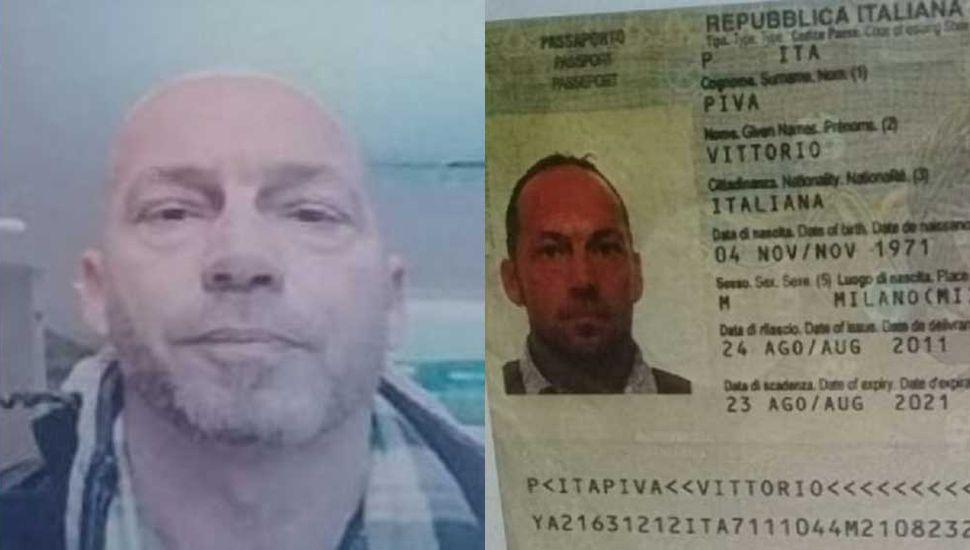 Un empresario italiano fue hallado baleado y calcinado