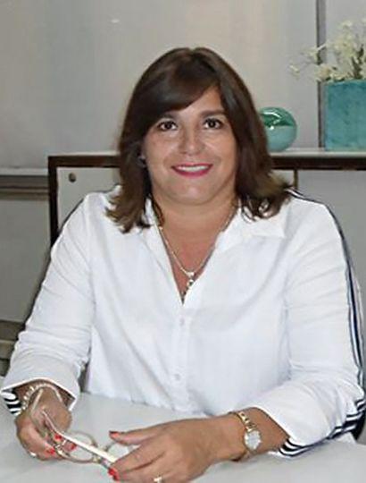 La nueva gerenta, María Gabriela Marcheschi.
