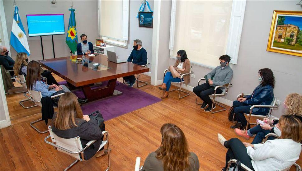 Petrecca anunció el inicio de obras en cuatro jardines de infantes