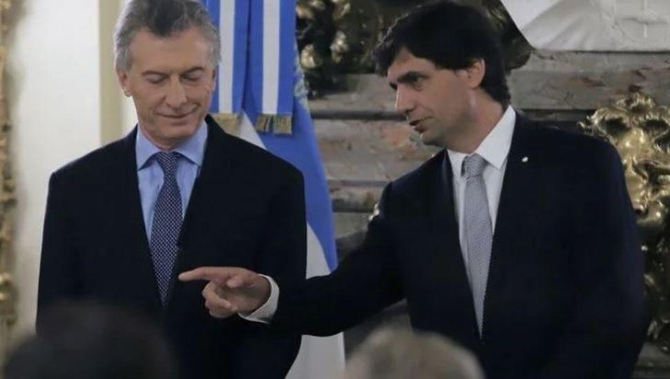 Tras el anuncio oficial, la nueva directora del FMI se reunió con Lacunza