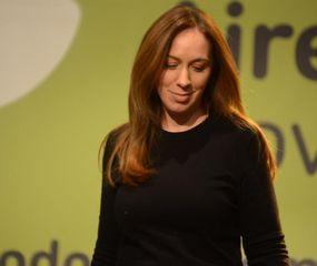 María Eugenia Vidal, abatida y con pesar, admite que el revés electoral está vinculado con la crisis económica que golpea a los bonaerenses.