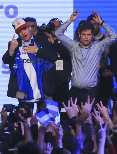 El precandidato a presidente por el Frente de Todos, Alberto Fernández.
