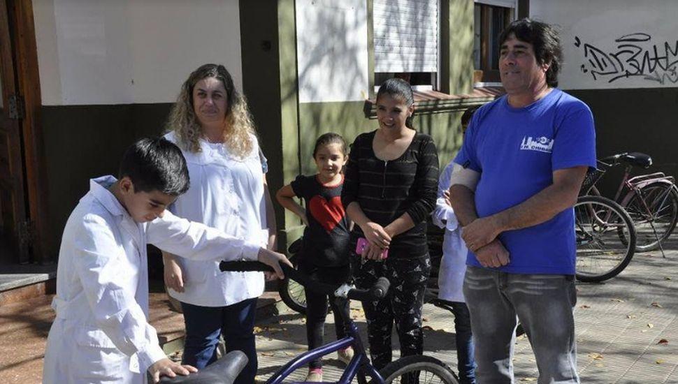 Vecinos de Junín donaron bicicletas para entregar en Chacabuco