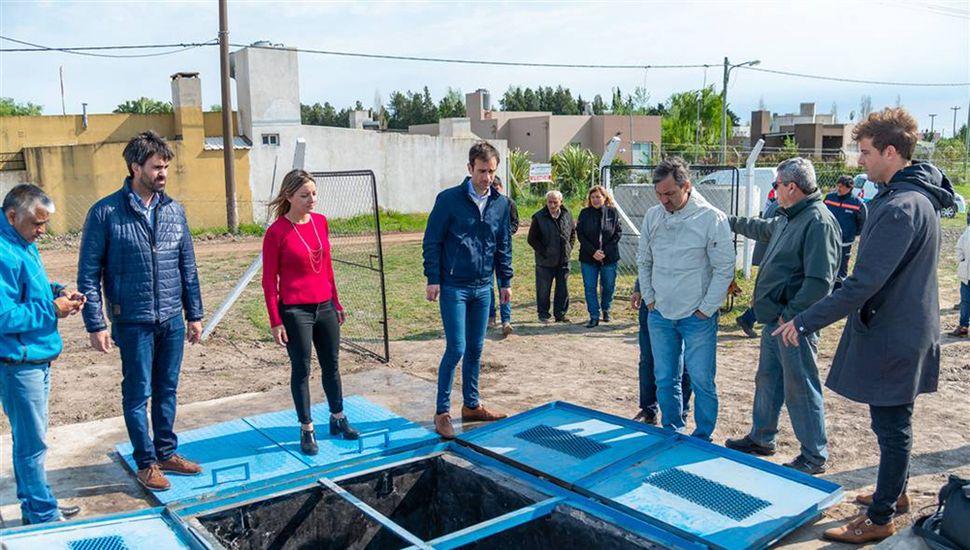 Nuevo servicio esencial en barrio Ricardo Rojas y Mitre.