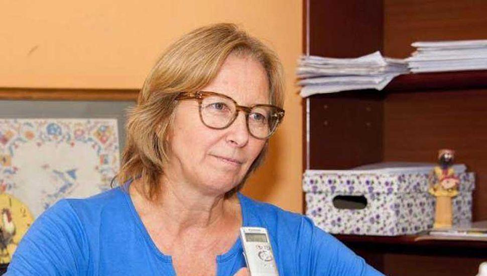 Marisa Ferrari, secretaria de Desarrollo Social del municipio.