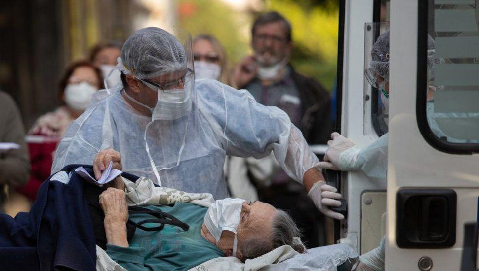 Se registraron 10.933 contagios y 199 muertes en las últimas 24 horas