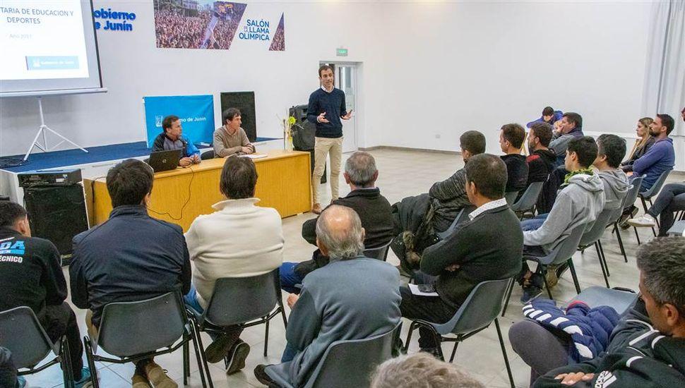 El Municipio lleva entregados 11 millones de pesos a clubes de Junín