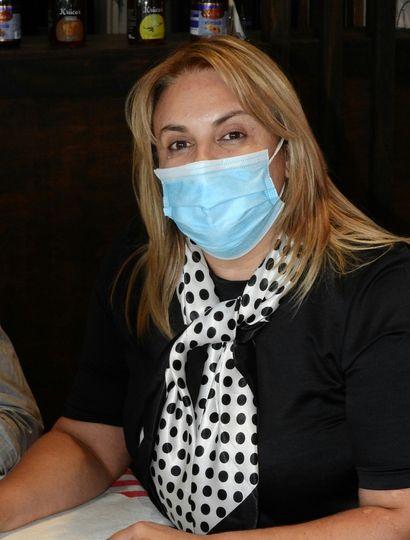 Erica Revilla, intendenta y compañera de fórmula de Maxi Abad.