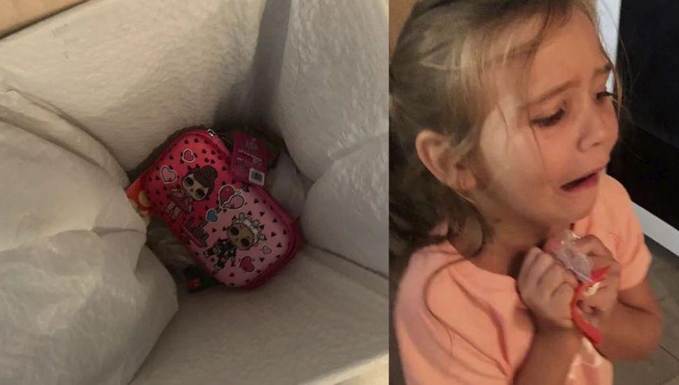 La lección viral de una madre a su hija tras un berrinche porque no le gustó un regalo