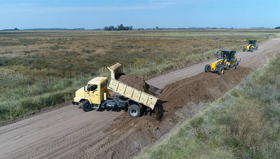 Aseguran desde el Municipio que los caminos rurales están en buen estado.