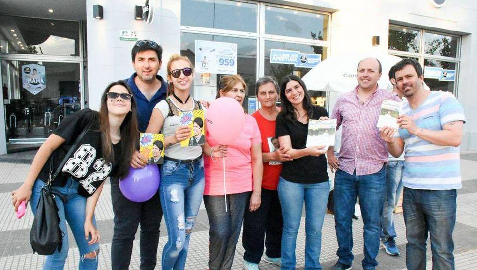 """""""Loli"""" Serritella de campaña en Chacabuco"""