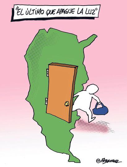 El 67% de los votantes aceptaría una propuesta laboral para irse del país