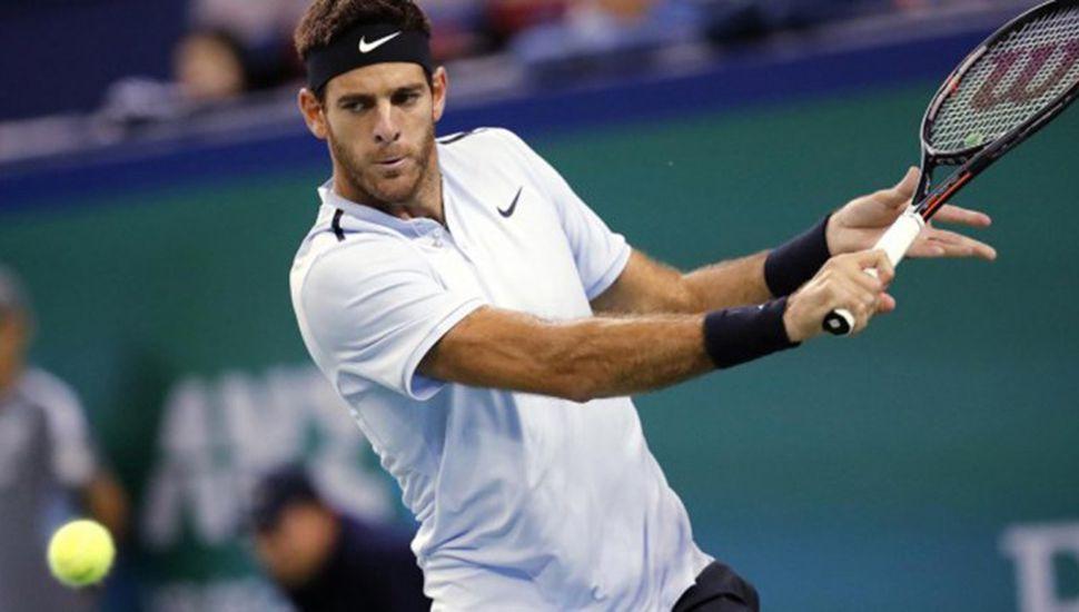 Del Potro perdió con Federer en la final de Basilea