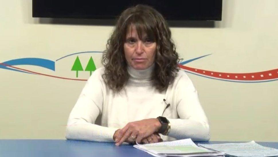 Etel Pilar Villar, directora de Bromatología de la Municipalidad de Rojas.