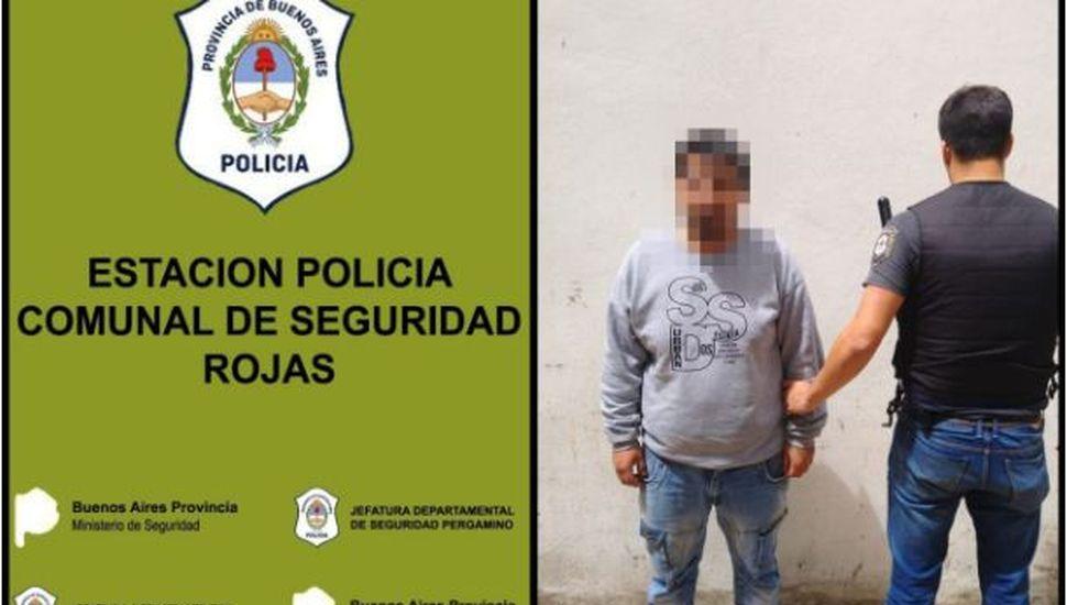Rojas: detuvieron a un hombre acusado de encubrimiento