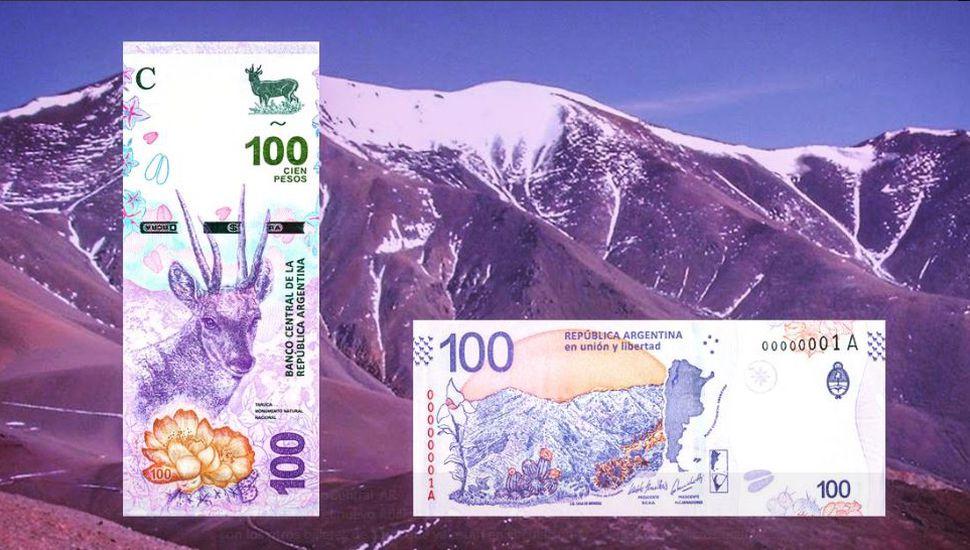 El Banco Central dispuso la emisión de monedas de diez pesos y los nuevos billetes de cien