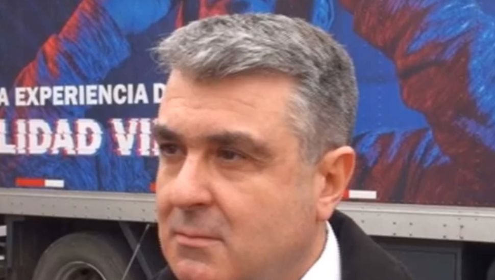 Hernán Colombo, jefe regional de Cooperación Seguros.