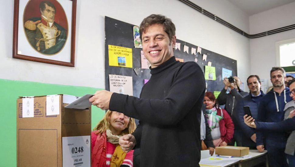 Kicillof se impone sobre Vidal en la Provincia