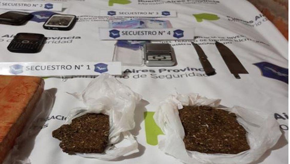 Secuestraron marihuana y cocaína en un operativo antidrogas en Viamonte
