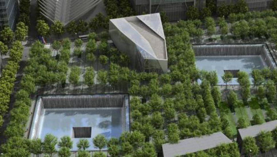 El Memorial es una de las plazas más ecológicas jamás construidas.