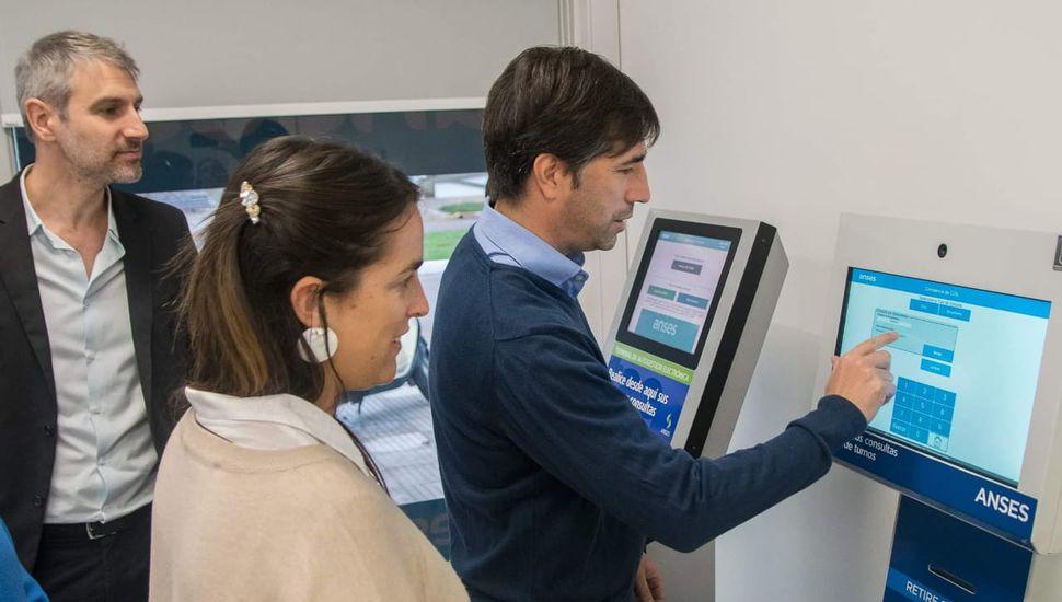 Quedó inaugurada la nueva oficina de ANSES en Los Toldos