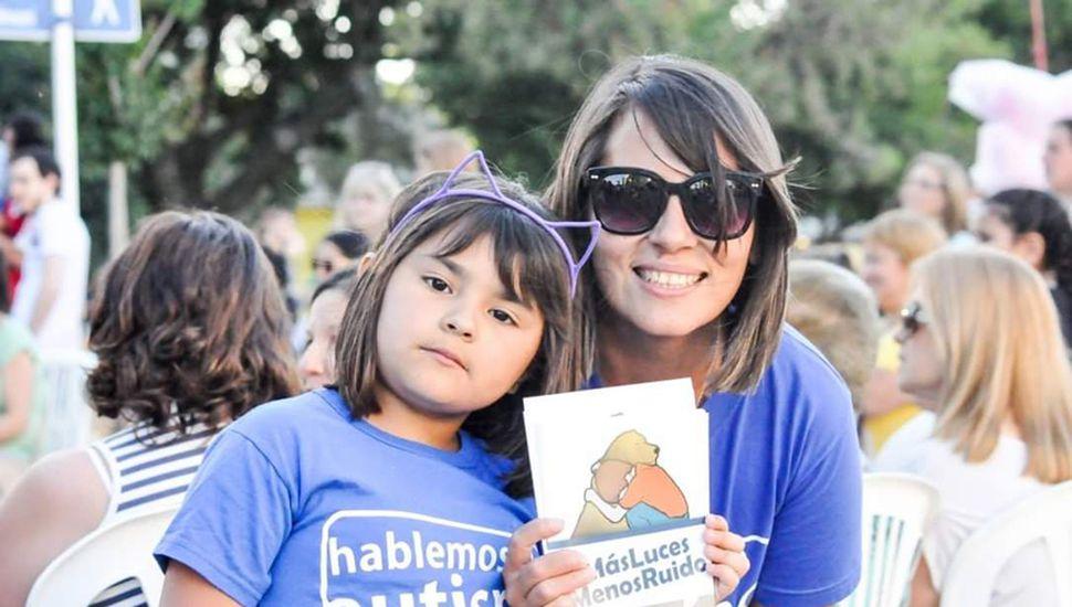 Soraya, miembro del grupo de padres y familiares de personas con autismo.