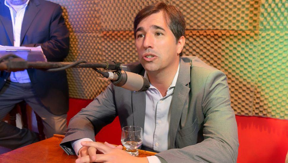 Franco Flexas, intendente del Municipio de General Viamonte.