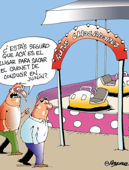 """El 93% de los votantes reconoció que los juninenses conducen """"mal"""""""