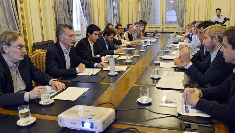 "Macri: ""El robo fue de USD 200 mil M, no de USD 35 mil M"""