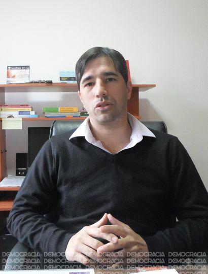 El intendente de General Viamonte, Franco Flexas, concedió una entrevista a Democracia.