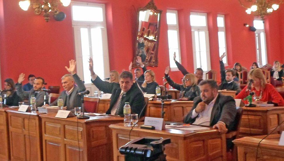 El oficialismo impuso su mayoría en el Concejo y aprobó la rendición de cuentas