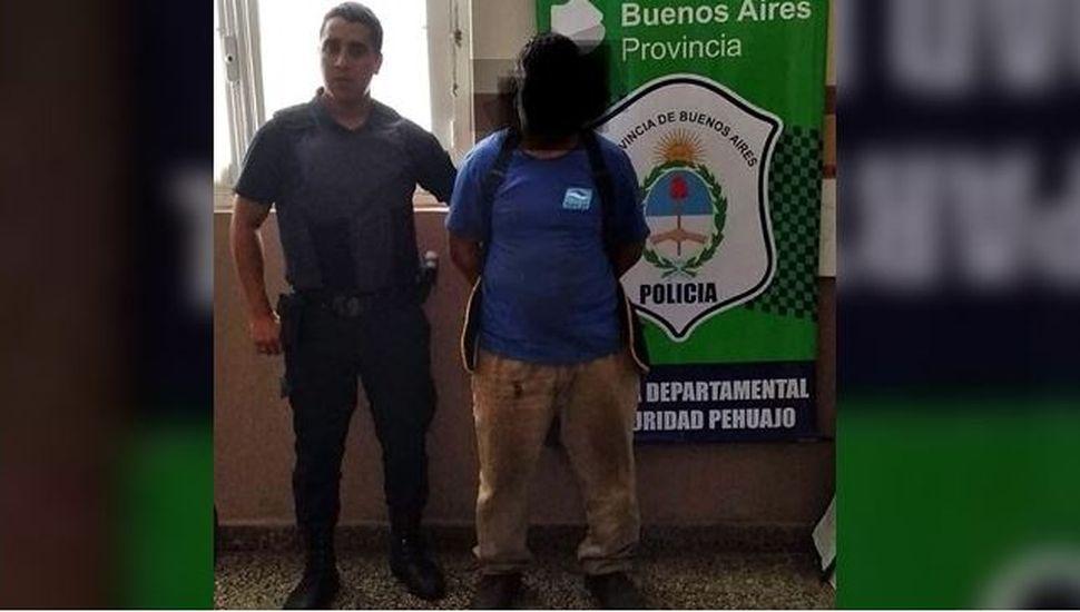 Un hombre fue detenido por robar pernos de las vías del tren