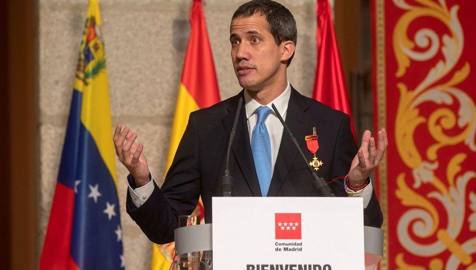 Sánchez  no recibe a Guaidó