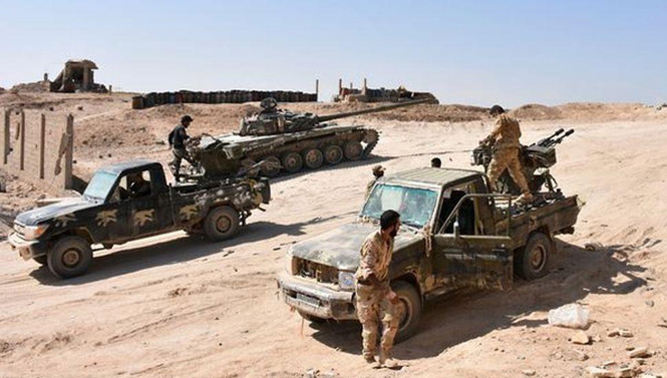 Tropas sirias cruzaron el Éufrates