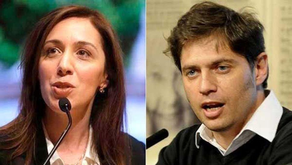 Vidal y Kicillof también buscan la hiperpolarización en la pelea por la gobernación bonaerense