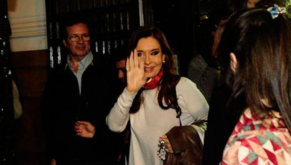 "Cristina Kirchner se reunió con intendentes peronistas ""leales"""