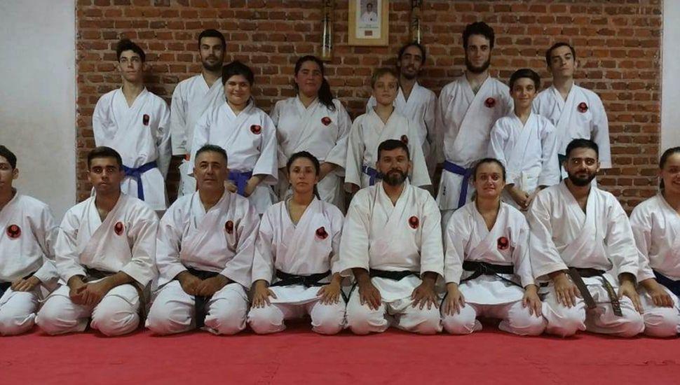 Integrante de la Escuela de Karate Do Goju Ryu de Junín.