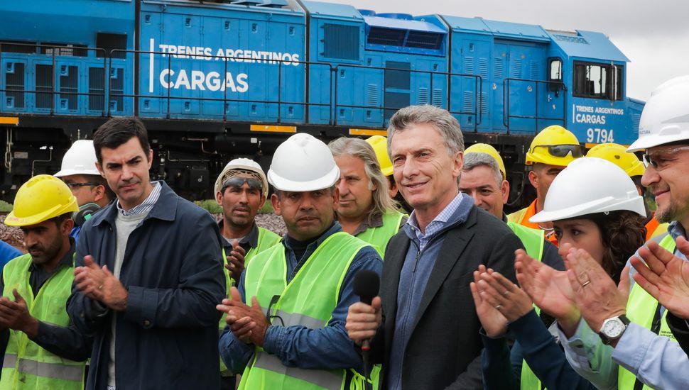 """Macri, al inaugurar vías: """"Haber decidido cambiar provoca resultados diferentes"""""""