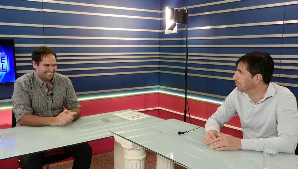 El jefe comnual de General Viamonte participó del programa Reporte Especial, en TeleJunín.