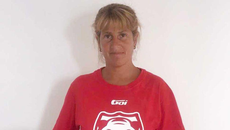 Sandra Ibarra, la entrenadora.